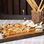 Tostas de quesos surtidos